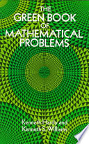 The Green Book of Mathematical Problems Book