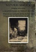 Natural Magick   Magiae Naturalis Book PDF