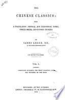 The Chinese Classics With A Translation Critical And Exegetical Notes Prolegomena And Copious Indexes By James Legge