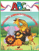 Abc Alphabet Animals Coloring Book for Kids