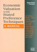 Economic Valuation with Stated Preference Techniques