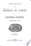 Annual Report of the Bureau of Labor and Industrial Statistics