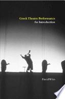 Greek Theatre Performance Book