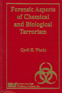 Forensic Aspects of Chemical and Biological Terrorism