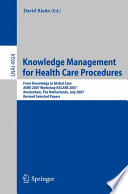 Knowledge Management for Health Care Procedures Book