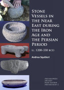 Stone Vessels in the Near East during the Iron Age and the Persian Period Pdf/ePub eBook