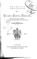 Cronaca della Società alpina friulana