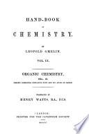Hand book of Chemistry  Organic chemistry