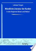 Mündliche Literatur der Kurden in den Regionen Botan und Hekarî