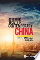 Governing Society in Contemporary China