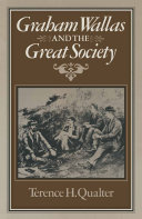 Pdf Graham Wallas and the Great Society Telecharger