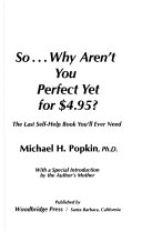 Pdf So-- why aren't you perfect yet for $4.95?