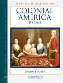 Colonial America To 1763