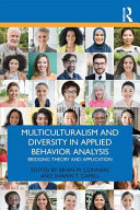 Multiculturalism and Diversity Issues in Applied Behavior Analysis Book
