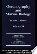 Oceanography And Marine Biology An Annual Review Volume 38