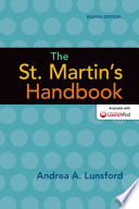 The St. Martin's Handbook