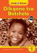 Books - Study & Master Dikgono Tsa Botshelo Buka Ya Tiro Mophato Wa 1 | ISBN 9781107610187