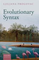 Pdf Evolutionary Syntax Telecharger