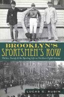 Brooklyn's Sportsmen's Row