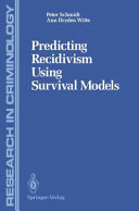Predicting Recidivism Using Survival Models