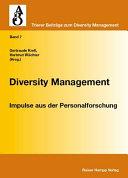 Diversity Management. Impulse aus der Personalforschung