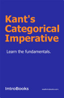 Kant's Categorical Imperative [Pdf/ePub] eBook