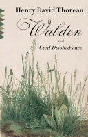 Cover of Walden and Civil Disobedience