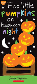 Five Little Pumpkins on Halloween Night Book