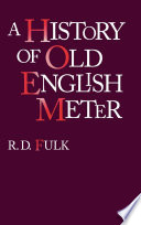 A History of Old English Meter