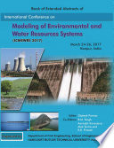 International Conference on Modelling of Environmental and Water Resources Systems  ICMEWRS 2017
