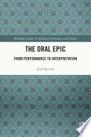 The Oral Epic Book PDF