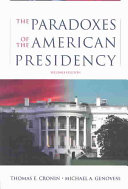 The Paradoxes of the American Presidency Book