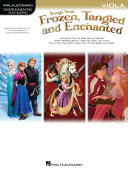 Songs from Frozen, Tangled and Enchanted - Viola Songbook