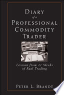 Diary of a Professional Commodity Trader Book PDF