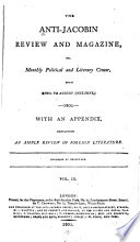 The Anti-Jacobin Review and Magazine Pdf/ePub eBook