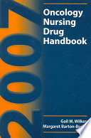 Oncology Nursing Drug Handbook Book PDF