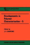 Developments in Polymer Characterization