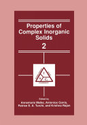 Properties of Complex Inorganic Solids 2 Pdf/ePub eBook