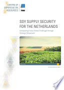 SOY SUPPLY SECURITY FOR THE NETHERLANDS