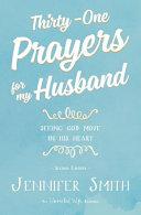 Thirty One Prayers for My Husband Book PDF