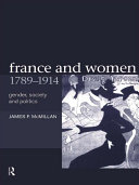 Pdf France and Women, 1789-1914 Telecharger