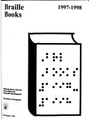 Braille Books Book