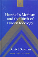 Haeckel S Monism And The Birth Of Fascist Ideology