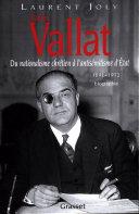 Pdf Xavier Vallat (1891-1972) Telecharger