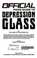 Off Pgt Depression Glassware