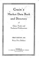 Crain's Market Data Book and Directory