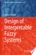 Design of Interpretable Fuzzy Systems