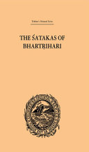 The Satakas of Bhartrihari