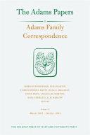 Adams Family Correspondence  Volume 15