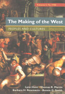 The Making of the West   Sources of The Making of the West Book